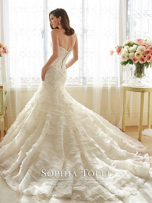 Sophia Tolli Y11628 PRINCESS | Yris Bridal Design Studio