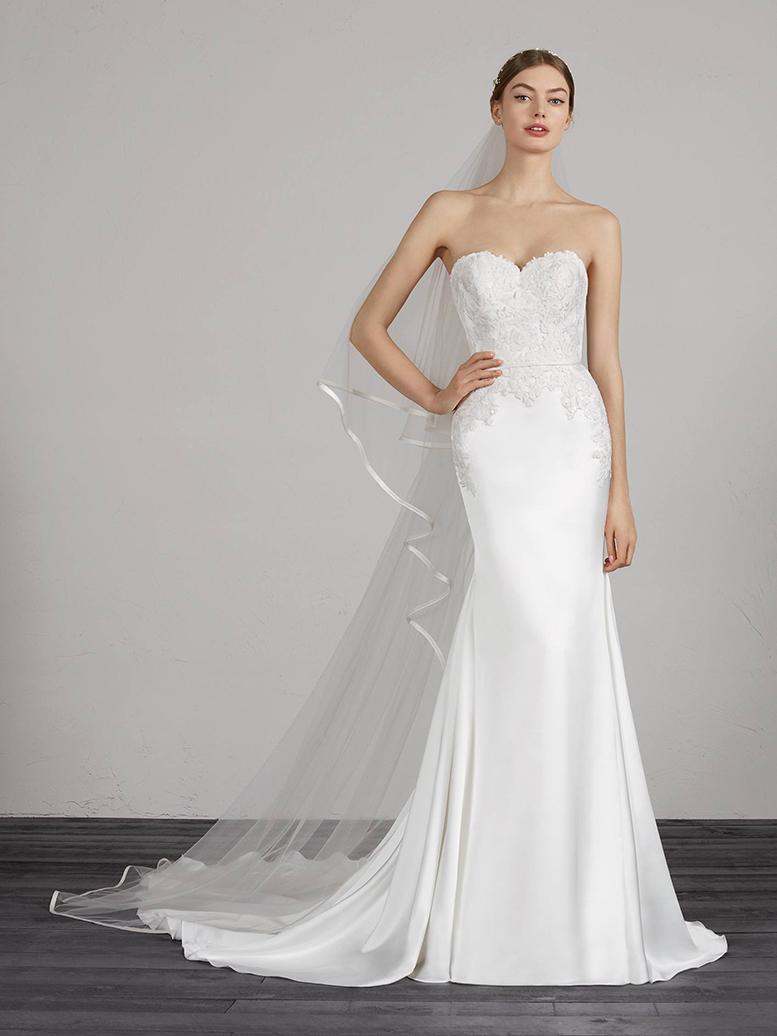 9009919eb09 A design intended for  Lovely-wedding-dress-with-sweetheart-neckline. A  design intended for
